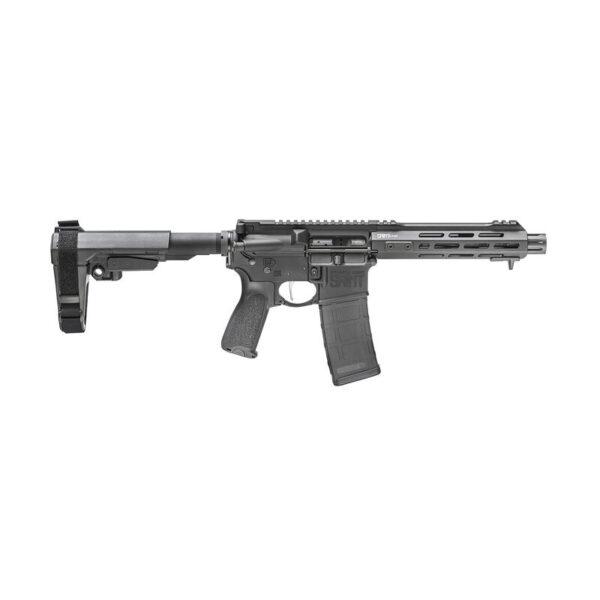"Springfield Armory SAINT Victor .223/5.56 NATO AR-15 Semi Auto Pistol 7.5"" Barrel 30 Rounds With SB Tactical SBA3 Pistol Brace Black"