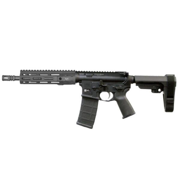 "LWRC IC-DI 5.56 NATO Semi Auto Pistol 10.5"" Barrel 30 Round M-LOK Free Float Rail SBA3 Pistol Brace Matte Black"