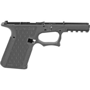 Grey Ghost Precision Combat Pistol Frame Compact GLOCK 19 Gen 3 Style Serialized Stripped Pistol Frame Gray
