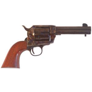 "Cimarron SA Frontier Old Model .357 Mag Single Action Revolver 4.75"" Barrel 6 Rounds Walnut Grip Case Hardened/Blued Finish"