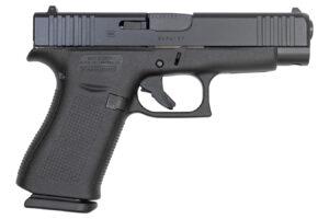 Glock 48 9mm 10-Round Pistol with Black Finish