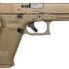 Glock 19x 9mm Full-Size FDE Pistol with 17 Round Magazine